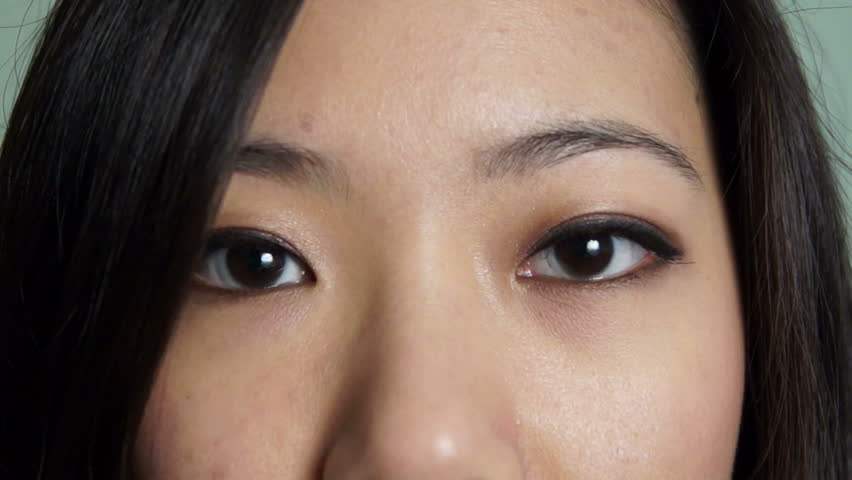 Beautiful asian eyes — 12