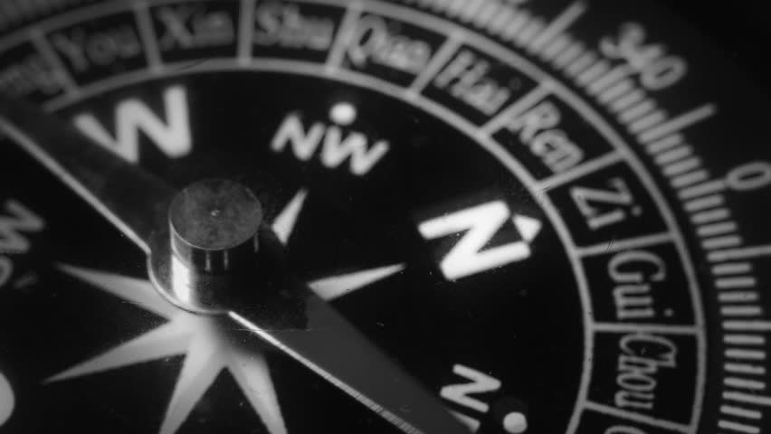 BREXIT. Great Britain map close-up. The compass has gone mad. Magnetic anomaly. Difficulties in choosing the right path. Conceptual video. The traveler is planning a way in London. | Shutterstock HD Video #31730698