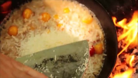 Risotto that will BLOW your Mind - Cooked in the Forest