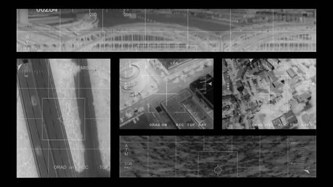 infrared Helicopter War Footage compilation 1 montage