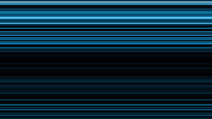 Horizontal blue stripes - digital animation