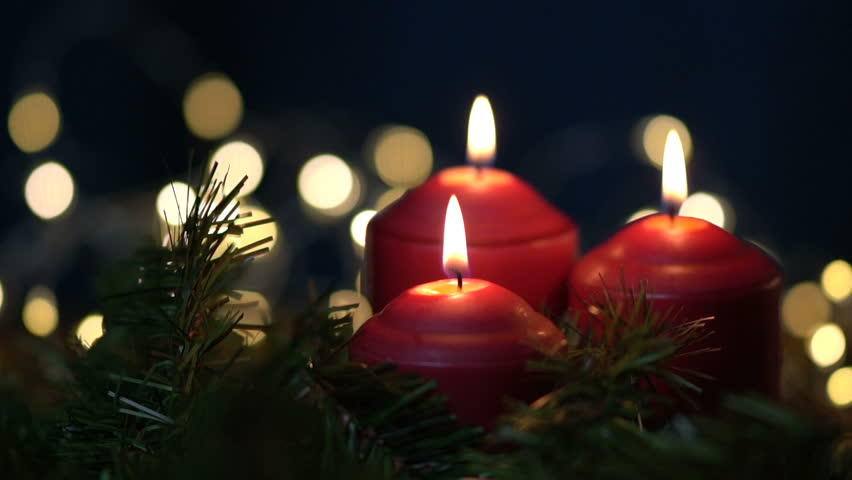 Christmas Candles.Man Blowing Out Three Christmas Stock Footage Video 100 Royalty Free 31839058 Shutterstock