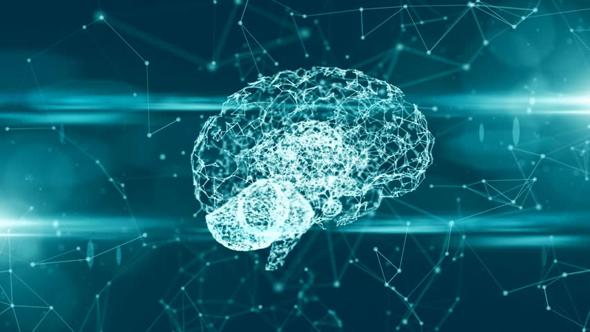 Computer brain thinking neural network AI artificial intelligence | Shutterstock HD Video #31857898