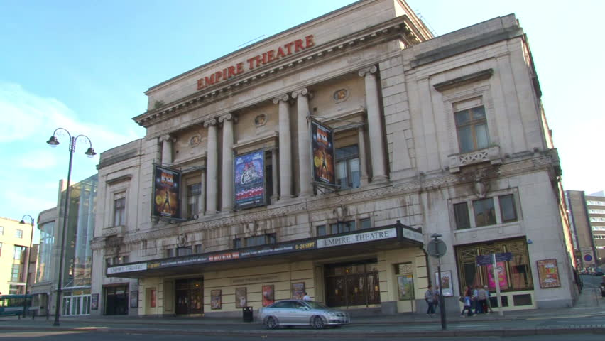 LIVERPOOL, ENGLAND - CIRCA 2011: Empire Theatre in Liverpool city centre.