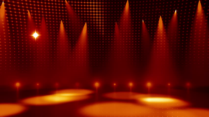 Clip 5298185 Stock Footage Yellow Stage Lights Loopable Background on 16 X 20 Floor Plans