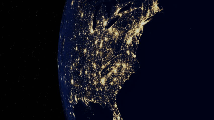 Cyber Attack Causes Massive U.S. Power Outage | Shutterstock HD Video #32014888