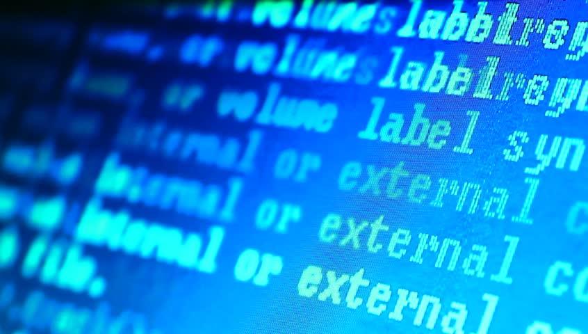 HTML codes    Shutterstock HD Video #3203473