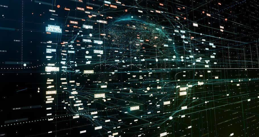 Abstract digital network | Shutterstock HD Video #32043508