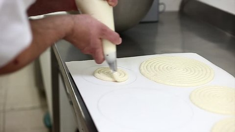 making macarons