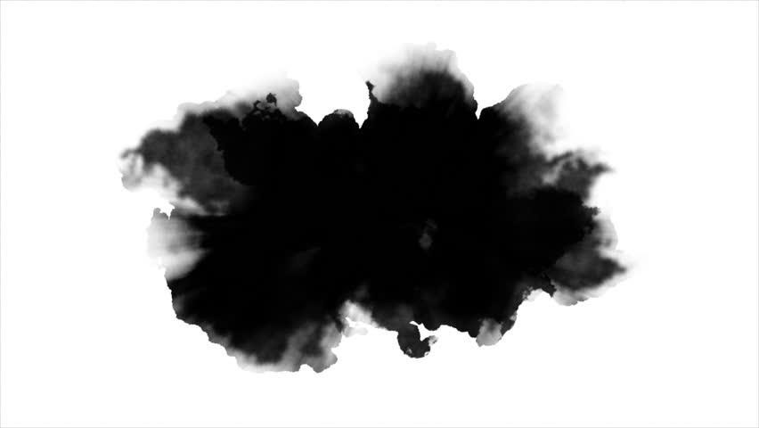 Dripping Ink on white background  | Shutterstock HD Video #32119591