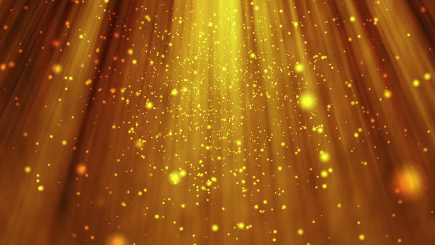 Golden Shiny Background Stock Footage Video (100% Royalty