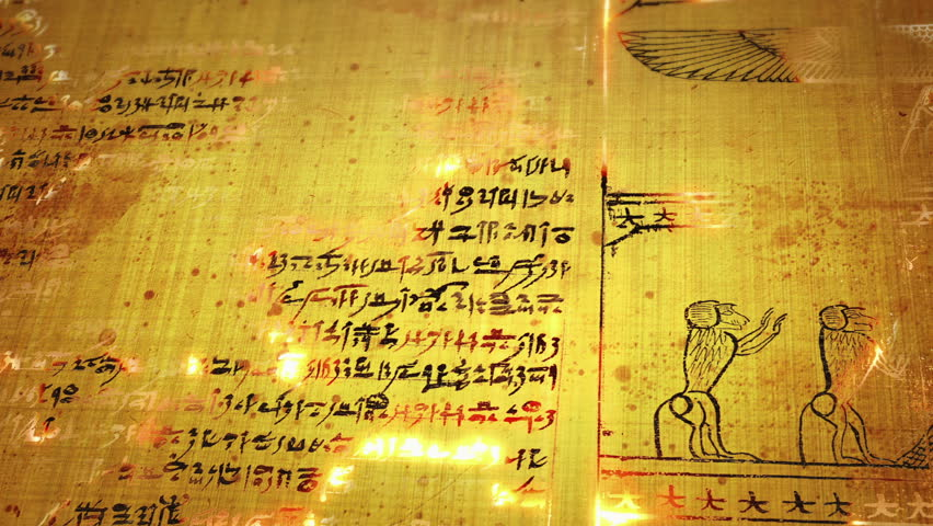 Animation of old Egyptian hieroglyphs   Shutterstock HD Video #32239648