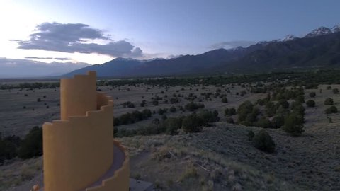 Flying my Dji inspire 2 with x5s and an Olympus 45mm lens in beautiful southern Colorado, in the Sangre de Cristo Mountains.  This is the Ziggurat in Crestone.