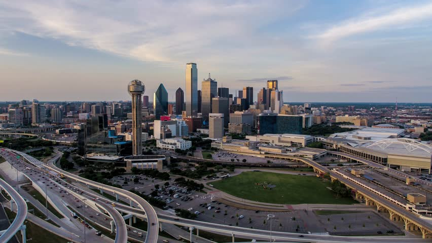 Dallas Texas as seen from my Dji Inspire 2 x5s and Olympus 12mm lens