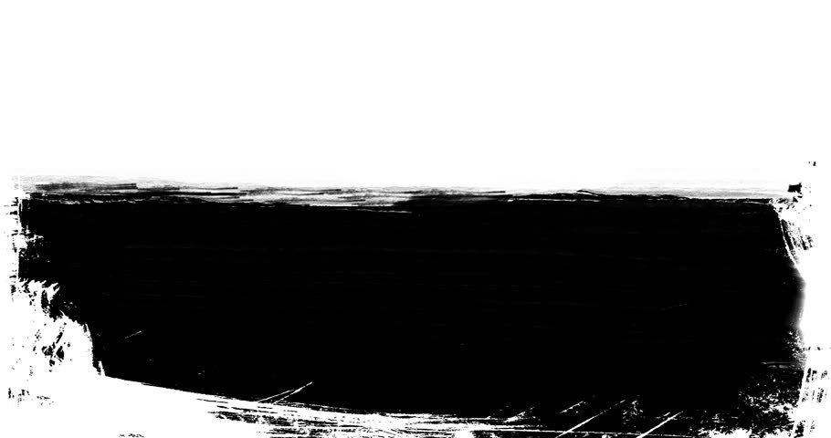 Abstract Paint Brush Stroke Black And White Transition ...