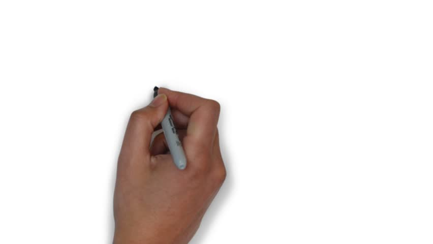 House, whiteboard animation of house, drawing a house | Shutterstock HD Video #32637592
