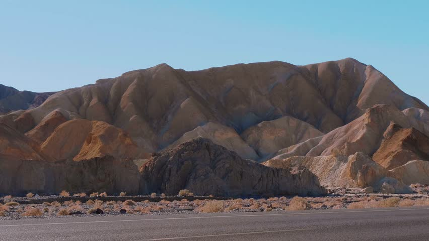 The amazing landscape of Death Valley National Park in California   Shutterstock HD Video #32654698