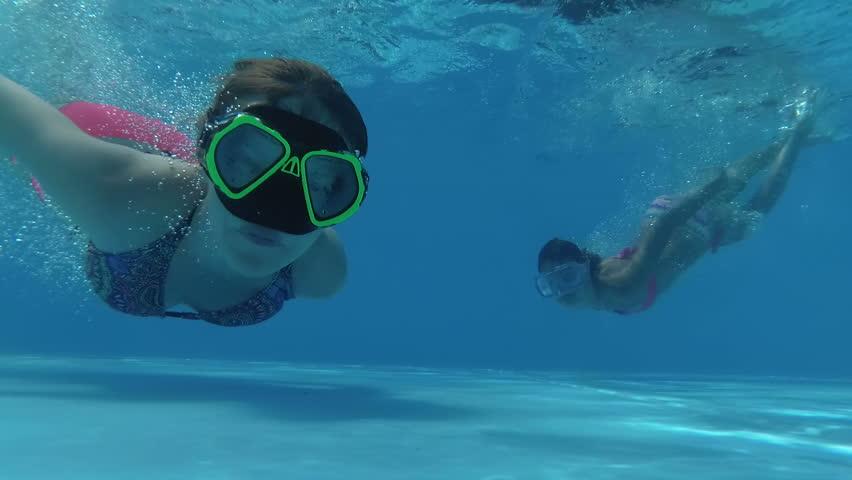Teen Boys Swimming Underwater In Pool Stock Footage Video 9247004  Shutterstock-8989