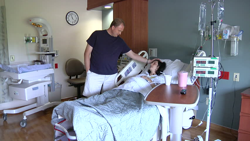 New parents to be waiting in hospital