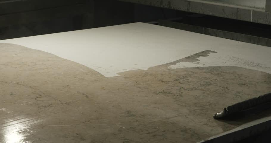 Stone processing finishing | Shutterstock HD Video #32829598