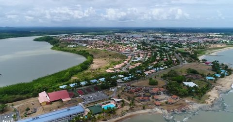 2 in 1. French Guiana. Aerial view