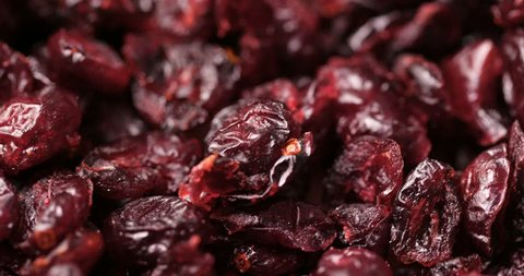 Dried cranberry in rotation