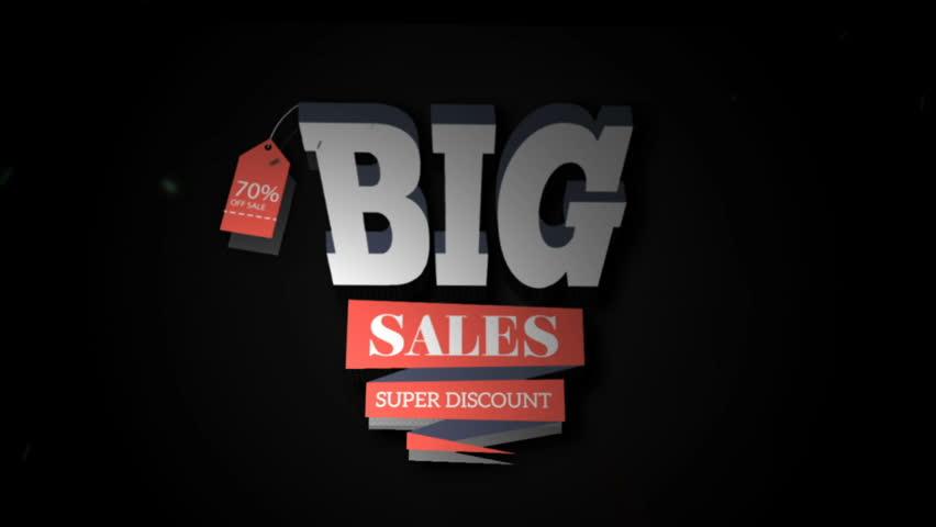 Big Sales Super Discount | Shutterstock HD Video #33022768
