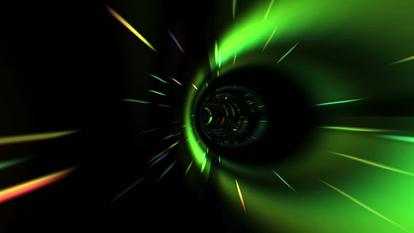 Flying Inside a Beautiful Vortex in Outer Space