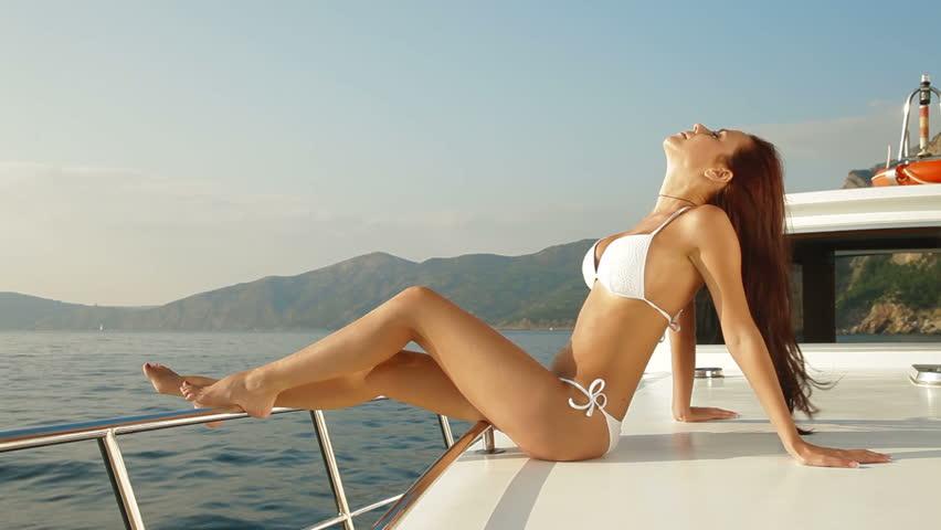 You were bay bikini boat girl swim trip not absolutely