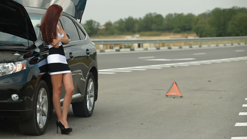 Car Broke Down >> Car Broke Down On The Stock Footage Video 100 Royalty Free 3328238 Shutterstock