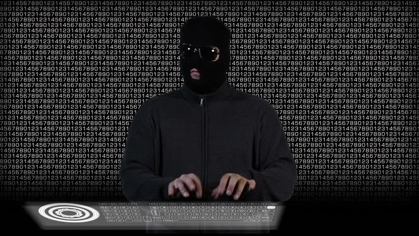Hacker Breaking System Success 5 | Shutterstock HD Video #3337898