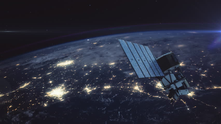 NASA ICON - The Ionospheric Connection Explorer. Highly realistic animation depicting the space agency's newest satellite launched in December 2017. 4K UHD. 16-bit color depth. Broadcast quality.      Shutterstock HD Video #33430054