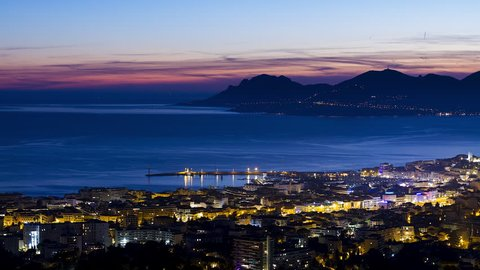 Time lapse Cannes