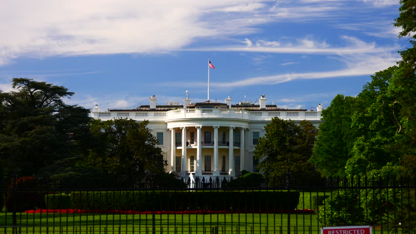 WASHINGTON, DC, USA - Circa 2017: The Ellipse, officially called President's Park South is a park located just south of the White House fence.   Shutterstock HD Video #33507238