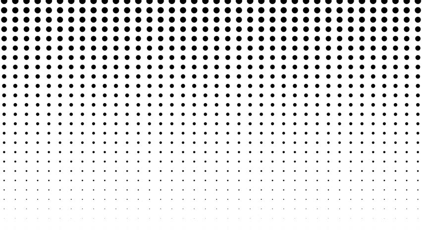 Dynamic black and white composition. Halftone element. Seamless loop | Shutterstock HD Video #33779608