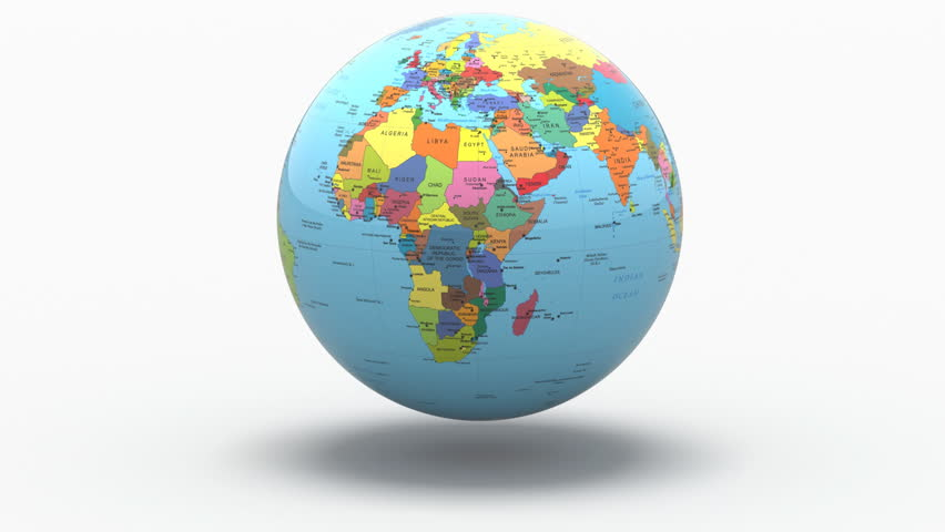 Stock video of turning earth with political map on 3379028 stock video of turning earth with political map on 3379028 shutterstock gumiabroncs Gallery