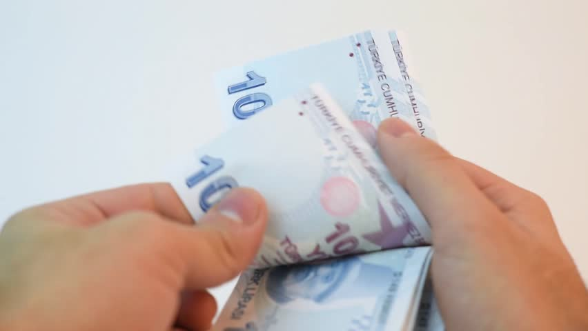 Counting Turkish money | Shutterstock HD Video #34049338