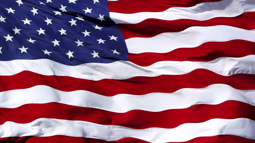 stock video of american flag usa flag waving 1080p. Black Bedroom Furniture Sets. Home Design Ideas