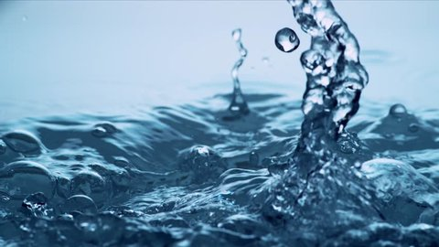 Water in Slow Motion - High Speed