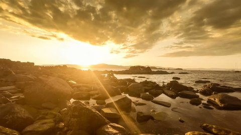 Tidal Timelapse on Easdale Island, Scotland