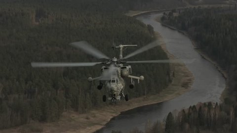 Military Helicopter of Russia