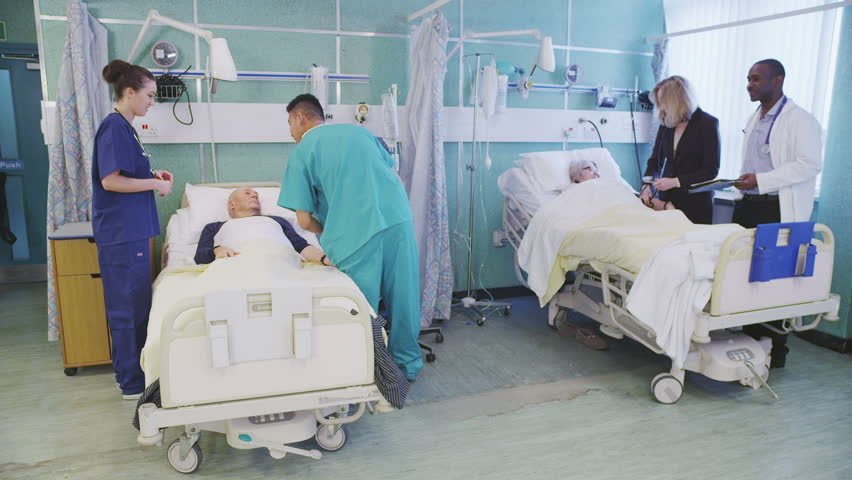 Male Nurses And Female Patients