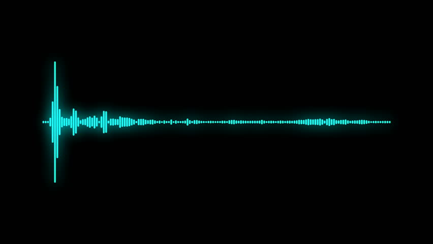 Digital Audio Spectrum Sound Wave Stock Footage Video (100% Royalty-free)  34425028 | Shutterstock