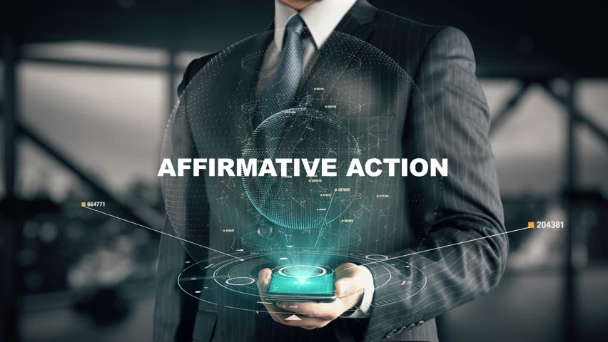 Header of affirmative action