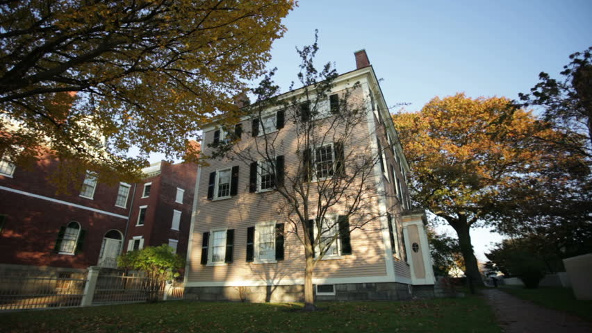 The historic Hawkes house in Salem Massachusetts