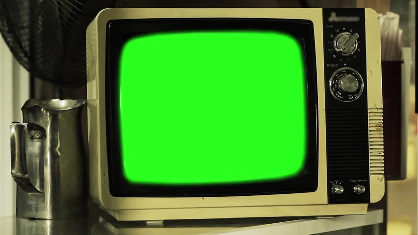 Old Tv Green Screen  Zoom Stock Footage Video (100% Royalty-free) 34754008  | Shutterstock