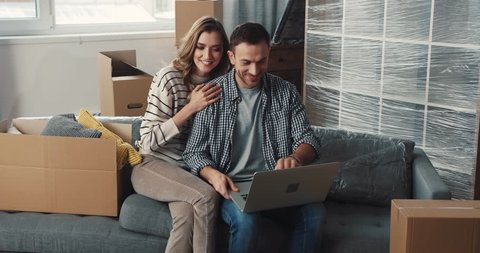 Image result for happy people buying furniture online