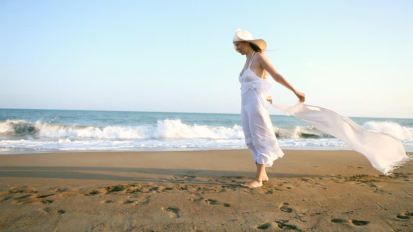 Mature Couple Running On Beach Stock Footage Video 8170567  Shutterstock-5733