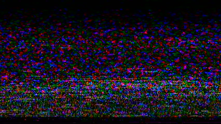 Test Tv. Test Signal. Vhs. Error Video Recording. | Shutterstock HD Video #34845268