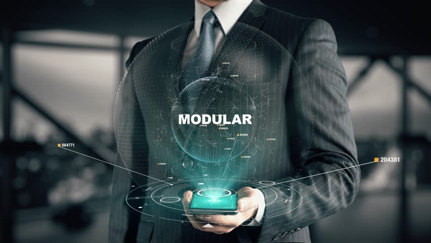 Modular definition meaning for Define prefabricated